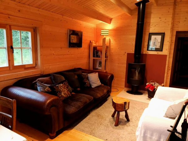 Two Bed Log Cabin Showhouse in Boyle